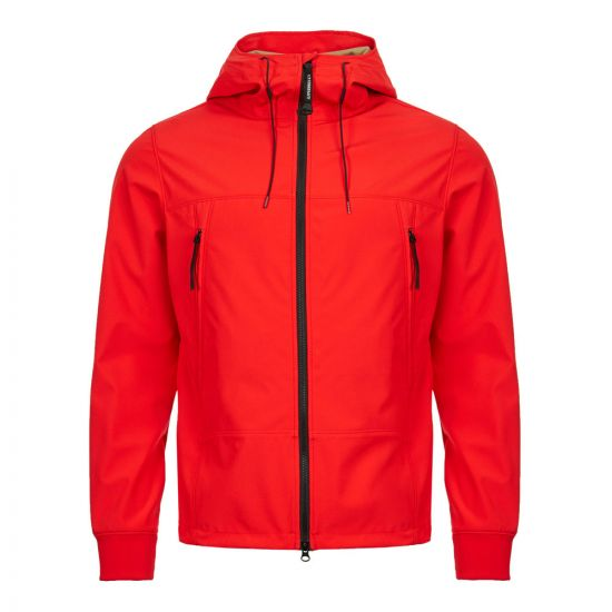 cp company soft shell goggle jacket CMOW012A 005159A 547 red