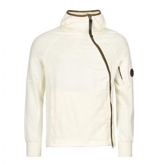 cp company hooded sweat CMSS001A 005353W 103 cream