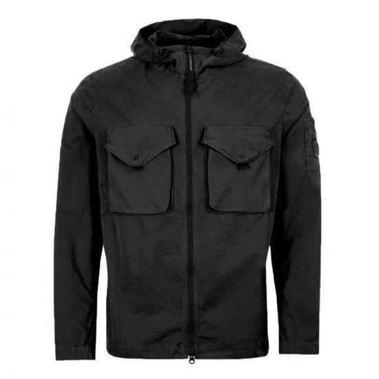 CP Company Overshirt | MOS121A 005425G 999 Black