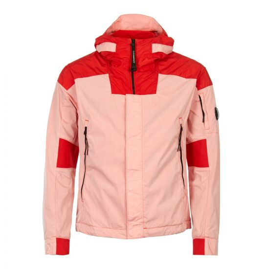 CP Company Jacket 50 Fili Lens CMOW116A|005153M|519 In Pink And Red