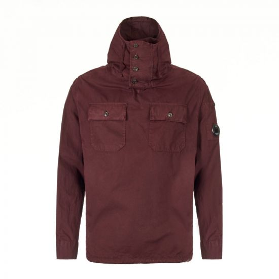 CP Company Overshirt | MOS0231A 002824G 593 Bitter Chocolate