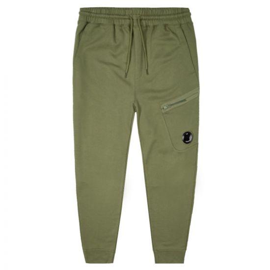 CP Company Joggers | MSP175A 005160W 660 Khaki Green
