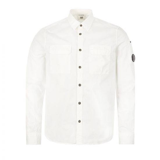 CP Company Shirt - Off White  22053CP -1