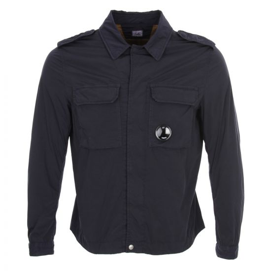 CP Company Ink Blue Overshirt