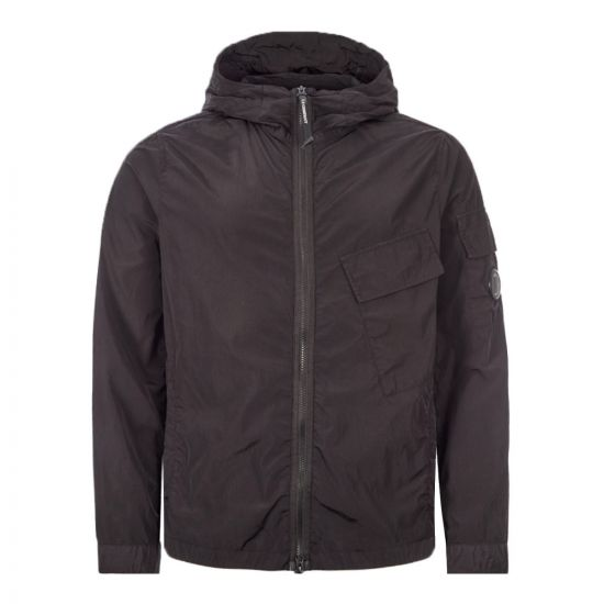 CP Company Hooded Overshirt - Black 22055CP -1