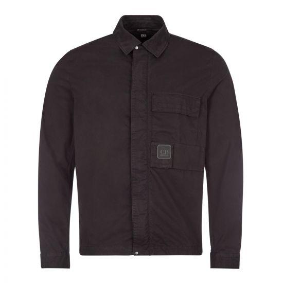cp company overshirt urban protection MSH129A 002824G 999 black