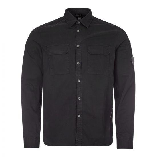 CP Company Shirt  MSH184A 002824G 999 Black   Aphrodite