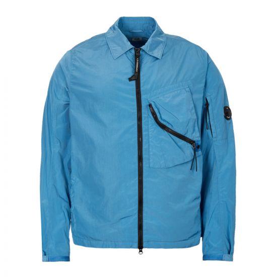CP Company Zip Overshirt MOS145A 005148G 834 Blue