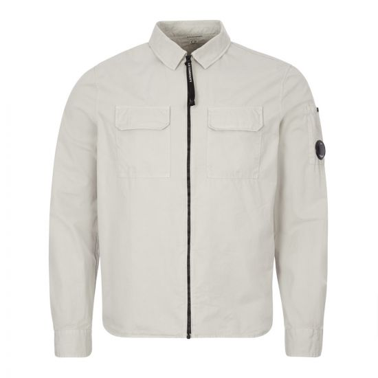 CP Company Overshirt | MSH183A 002824G 900 Quiet Grey