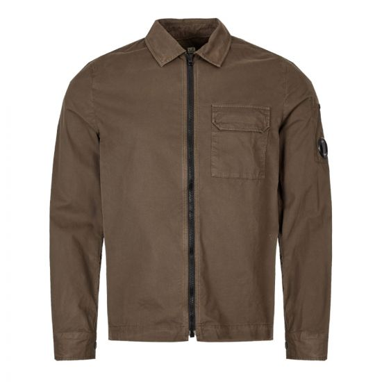CP Company Shirt MSH230A 00 2824G 661 In Olive