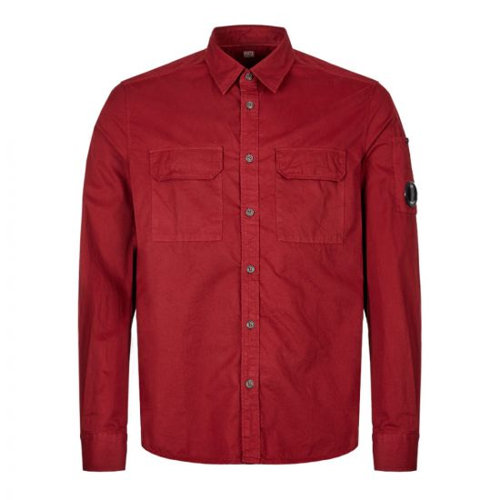 CP Company Shirt MSH228A 00 2824G 576 In Red