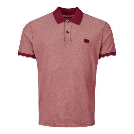 CP Company Polo Shirt MPL110A 00 0973G 576 Red