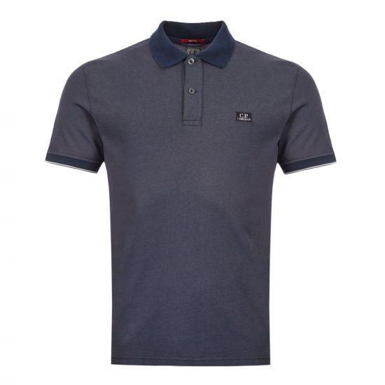 CP Company Polo Shirt Logo – Navy 21150CP 0