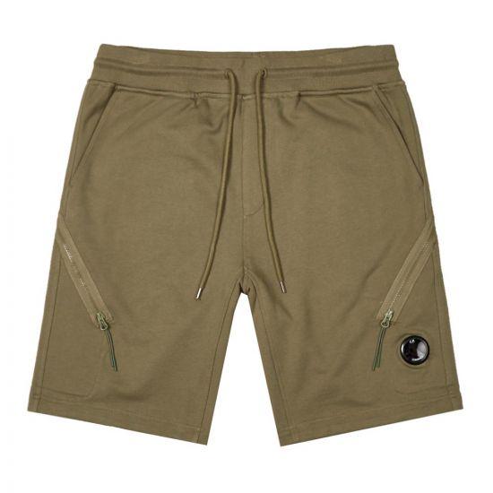 CP Company Shorts | MSB177A 005160W 660 Khaki Green