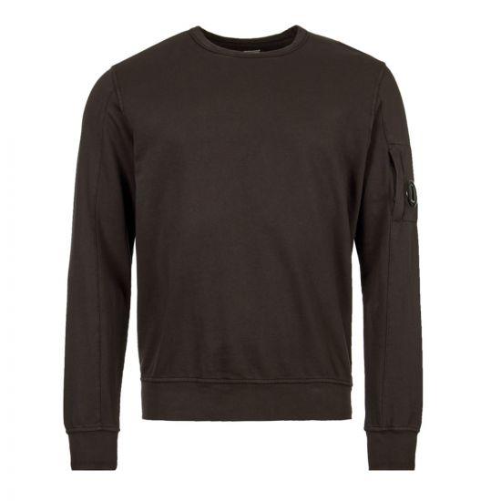 cp company sweatshirt arm lens MSS047A 002246G 999 black
