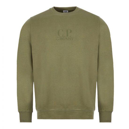 CP Company Sweatshirt - Green 21964CP -1