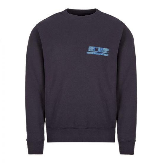 CP Company Sweatshirt - Navy 21966CP -1