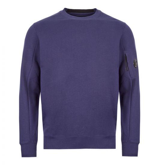 CP Company Sweatshirt | MSS014A 005160W 878 Navy