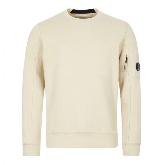 CP Company Sweatshirt | MSS039A 005086W 303 Oyster