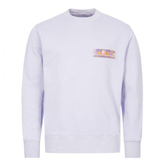 CP Company Sweatshirt   Purple MSS323A 005747W 888   Aphrodite
