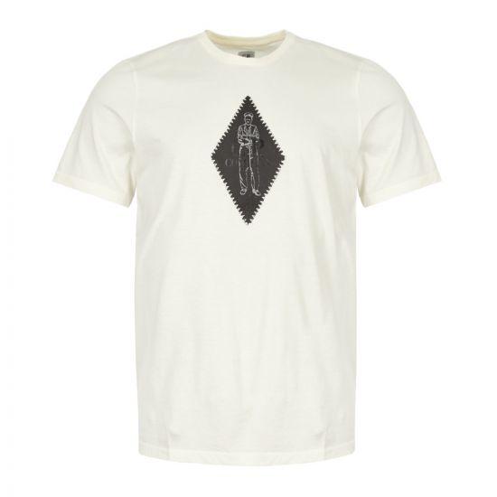 CP Company T-Shirt MTS102A 005100W 103 Cream