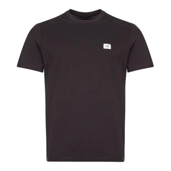 CP Company T-Shirt | MTS026A 005100W 999 Black | Aphrodite