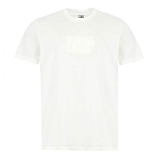 cp company t-shirt logo | MTS14A 005100W 103 off white