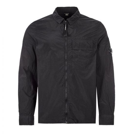 CP Company Shirt Zipped - Black 22060CP -1