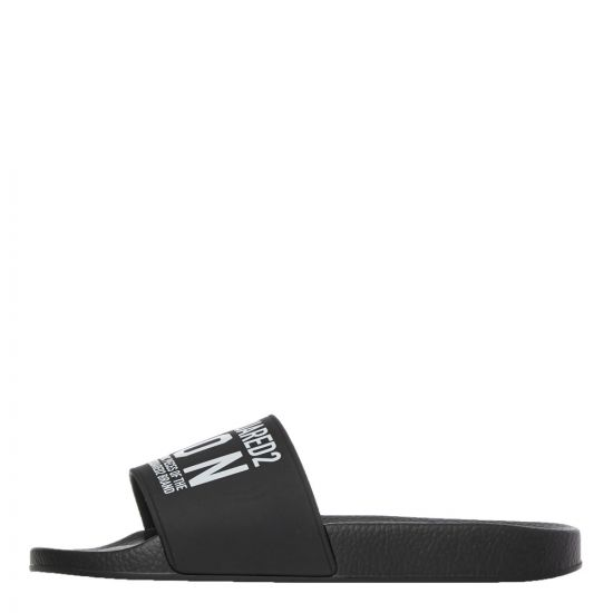 DSquared Sliders | Black FFM0071 7200001 2124 | Aphrodite