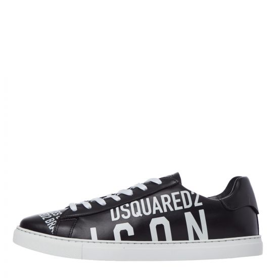 DSquared New Tennis Trainers - Black 21983CP -1
