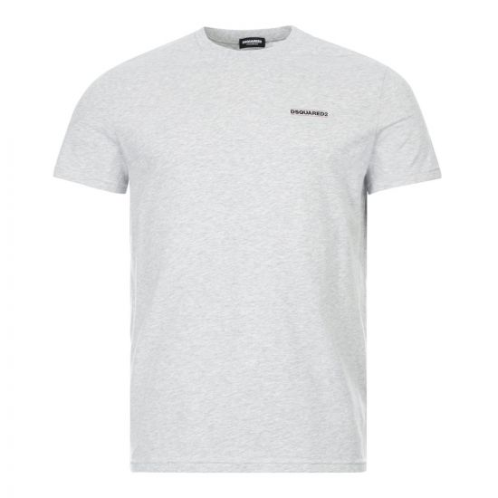 DSquared T-Shirt Logo Print   D9M203040 030 Grey