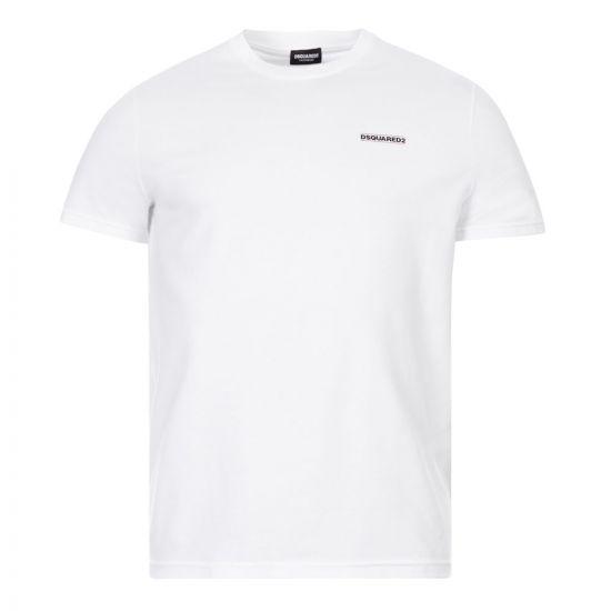 DSquared T-Shirt Logo Print | D9M203040 100 White