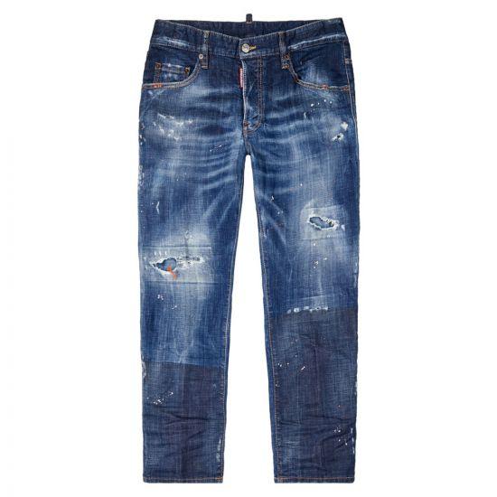 dsquared2 skater jeans S74LB0686 S30342 470 blue