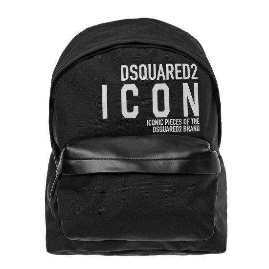 DSquared Backpack – Black 21352CP -1