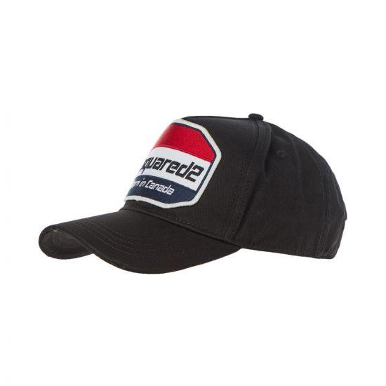 dsquared cap BCM03140 5C00001 2124 black