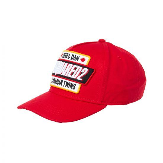 DSquared Cap BCM018508C00001 4065 Red
