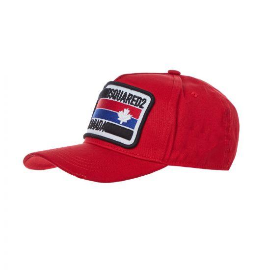 DSquared Cap | BCM024705 C00001 4065 Red