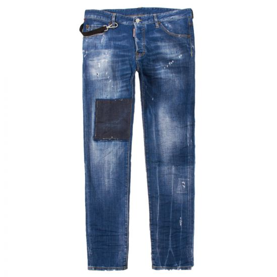 DSquared Cool Guy Jeans S47LB0487 S30342 470 Washed Indigo