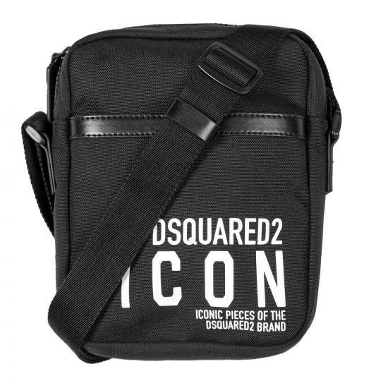 DSquared DSquared Cross Body Bag - Black 21353CP -1