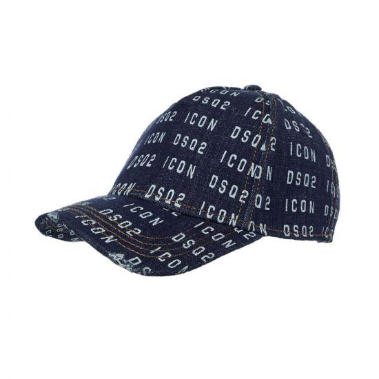 DSquared Cap Denim - Blue 21986CP -1