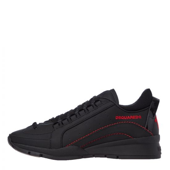 DSquared High Sole Sneakers   SNM0505 M002 Black