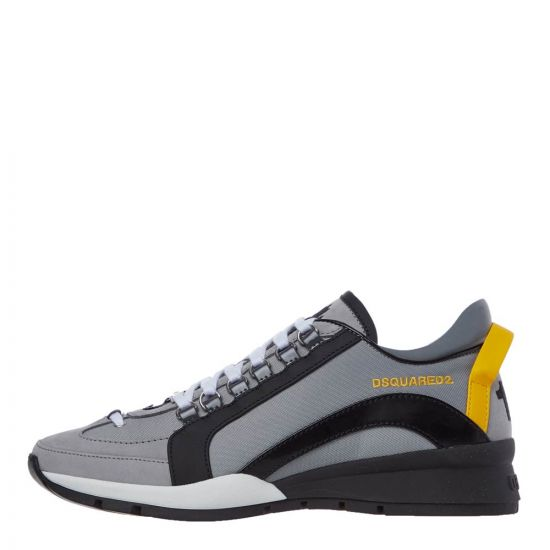 DSquared High Sole Sneakers | SNM0505 M004 Grey / Black