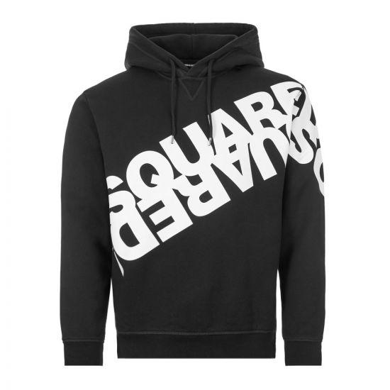 DSquared Hoodie - Black 21388CP -1