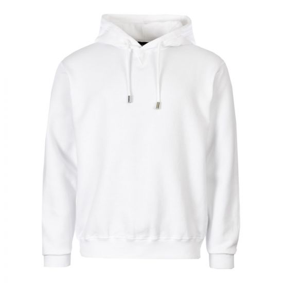 DSquared Icon Hoodie S74GU0353 S25042 969 White