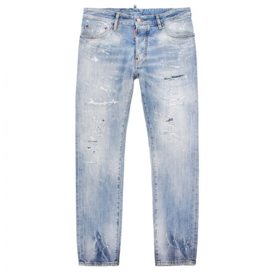 DSquared Cigarette Jeans S71LB0579 S30309 470 Washed Denim