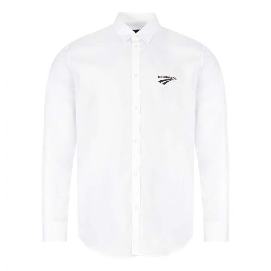 DSquared Shirt | S74DM0439 S36275 100 White