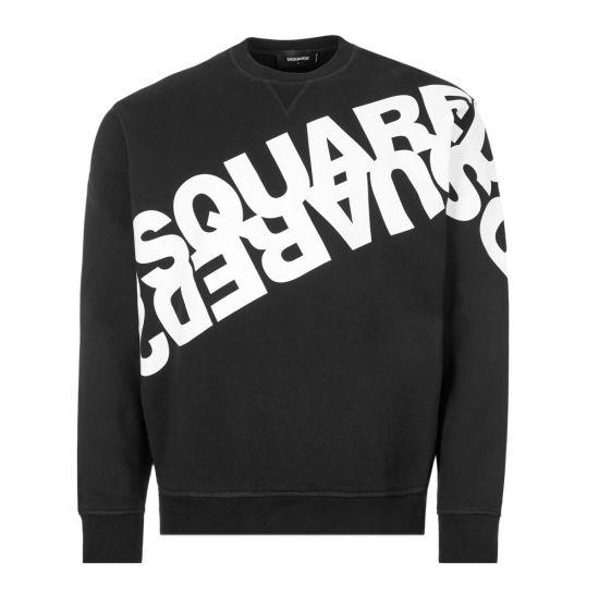 DSquared Sweatshirt Logo – Black 21348CP -1