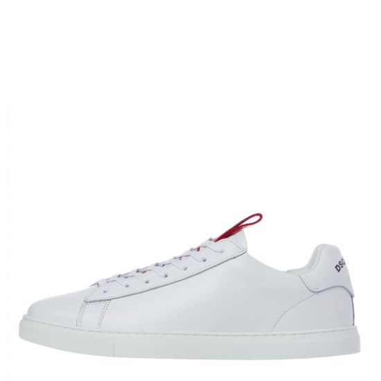 DSquared New Tennis Sneakers | SNM0079 M1747 White / Red