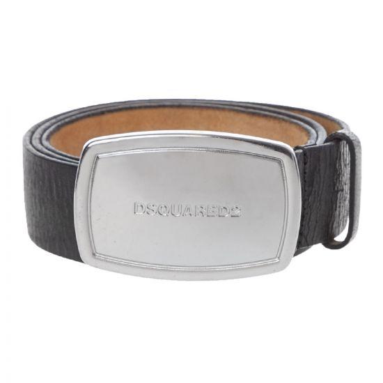 DSquared Belt Plaque   BEM022301 502402 M1601 Black