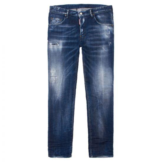DSquared Jeans Skater S74LB0501 S30342 470 Blue Wash